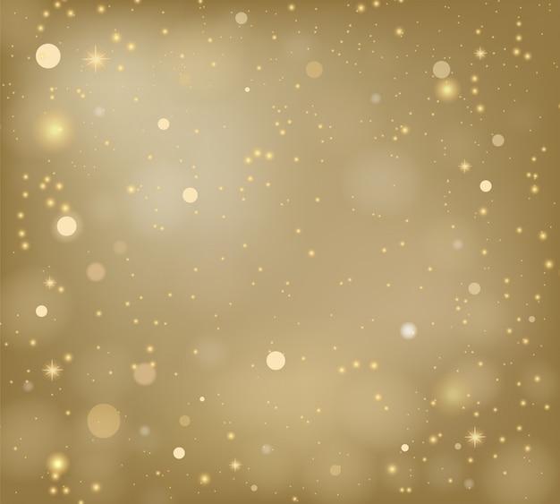 黄金のベクトルの背景をぼかし