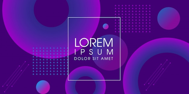 抽象的な紫色のモダンな流体背景デザイン