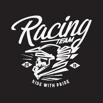 レーシングチームのロゴテーマ
