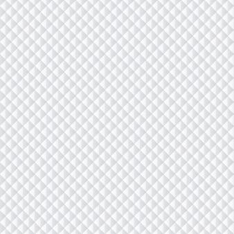 白菱形パターン