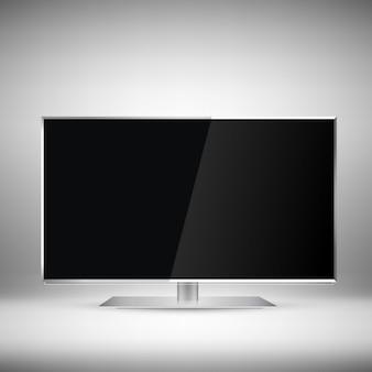Реалистичный дизайн телевидения