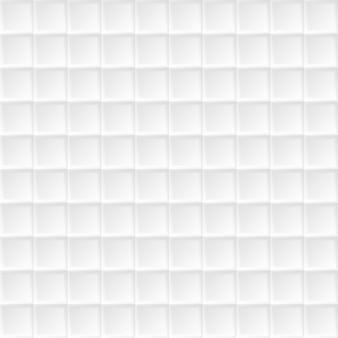 シームレスな白い矩形のテクスチャ