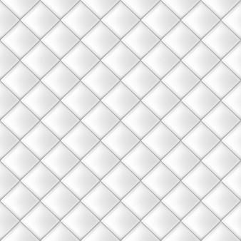 白のシームレスなタイルパターン