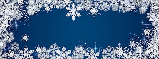 Зима снежная