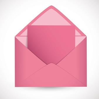 Розовое письмо