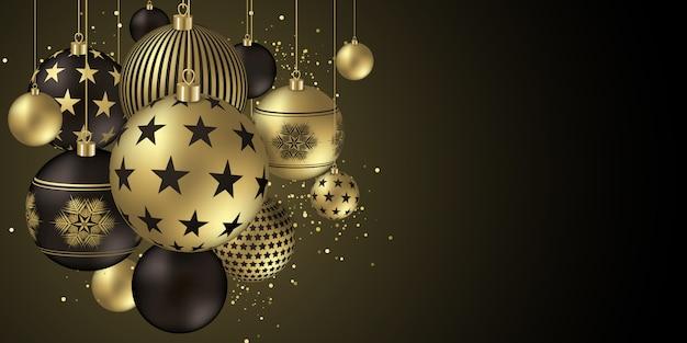 Рождественский дизайн баннера