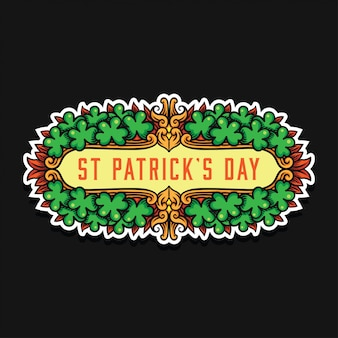 聖パトリックの日飾り