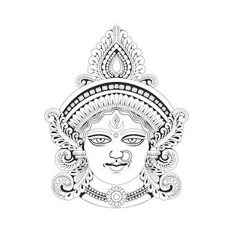 Богиня ма дурга индия
