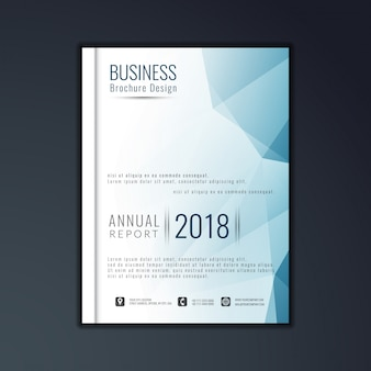 Дизайн элегантной деловой брошюры