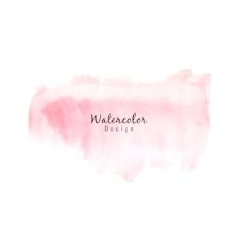ピンク色の水彩画の背景