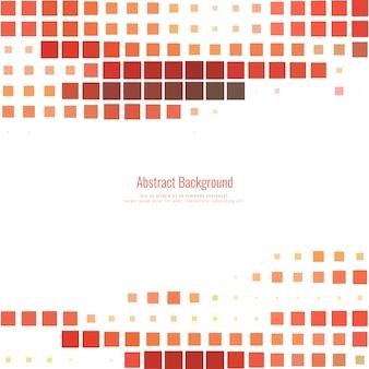 Абстрактный элегантный дизайн красной мозаики