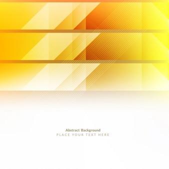 黄色の光沢のあるポリゴンの背景デザイン