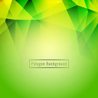 Абстрактный стильный красочный геометрический многоугольник