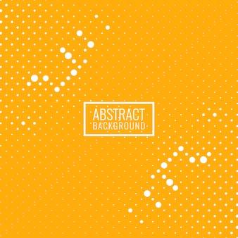 抽象的な明るい黄色のハーフトーンの背景