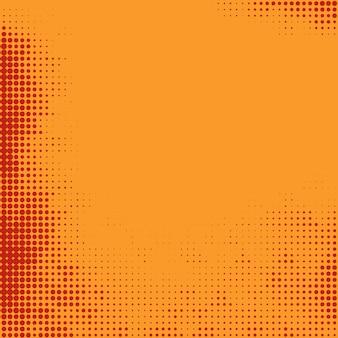 抽象的な明るいカラフルなハーフトーンデザインの背景