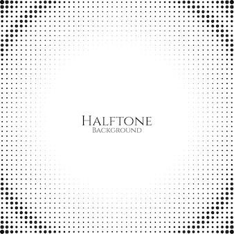 抽象的なハーフトーンデザインの背景のベクトル