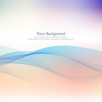 Абстрактный красочный фон волны
