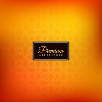 エレガントな美しいプレミアム黄色の背景