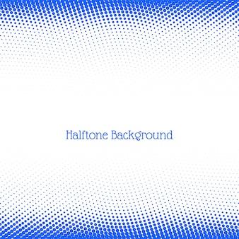 モダンなブルーのハーフトーンの背景
