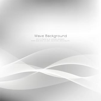Абстрактная волна серый фон