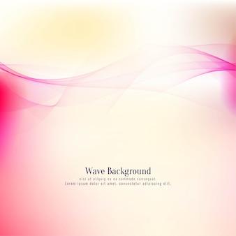 Элегантный красочный стильный фон волны
