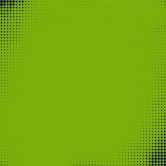 抽象的なグリーンハーフトーンの背景