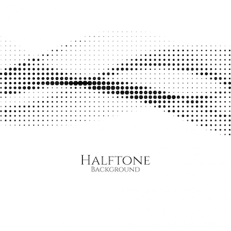 エレガントなハーフトーンデザインのベクトルの背景