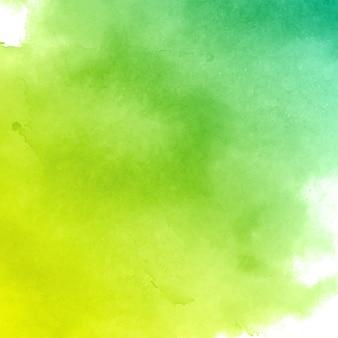 抽象的な緑水彩テクスチャ背景