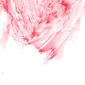 Абстрактный декоративный красный фон акварелью