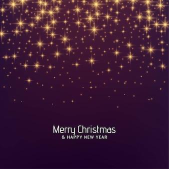 メリークリスマスフェスティバルの輝く背景