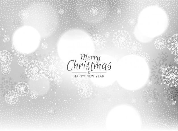 メリークリスマスのお祝い挨拶背景