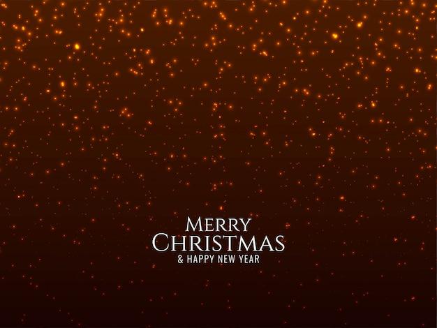 メリークリスマスの輝きの背景