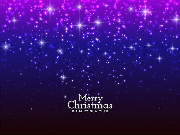 メリークリスマスフェスティバル輝くキラキラ背景