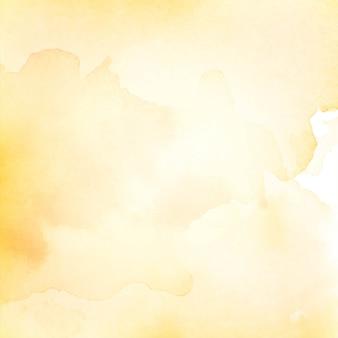 黄色の水彩テクスチャ背景