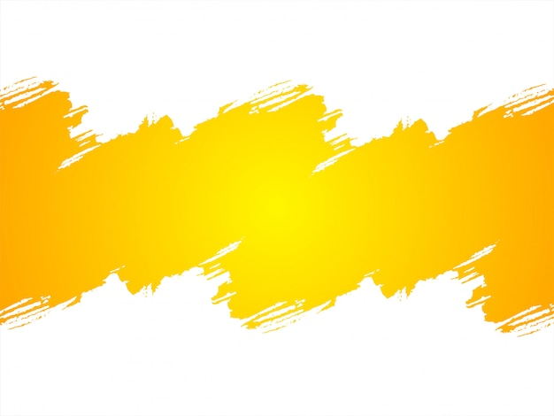 抽象的な明るい黄色のグランジ背景