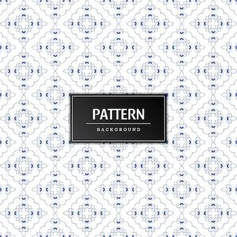 美しい装飾的なパターンのベクトルの背景