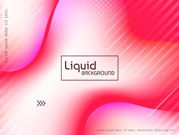 抽象的なカラフルな液体の流れの背景