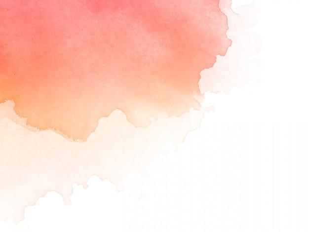 抽象的な水彩画の背景デザイン