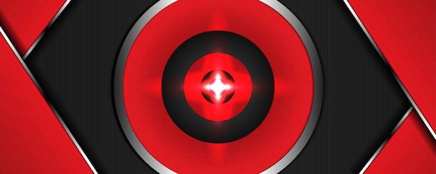 織り目加工の背景に赤の効果のリアル