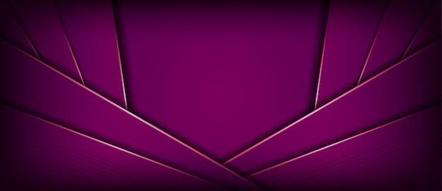 紫色の重複レイヤーとモダンな抽象的な背景