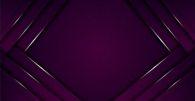 重複レイヤーと抽象的な豪華な紫色の背景