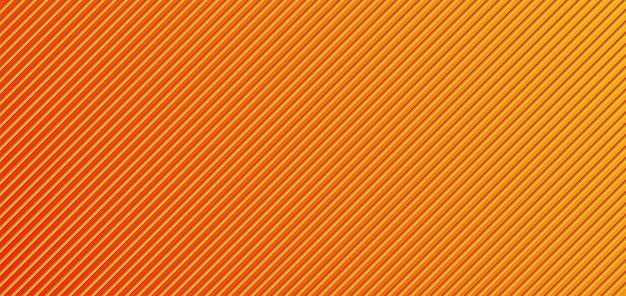 Абстрактный оранжево-желтый фон в полоску