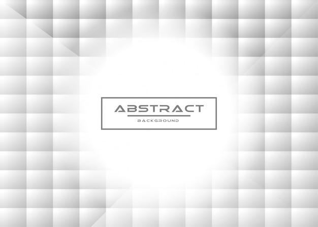 灰色の白い抽象的な背景を持つ抽象的な創造的なトレンディな動的モダンなデザインのベクトル図の概念