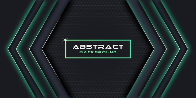 抽象的な背景と幾何学的デザイン要素。
