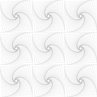 正方形をパターンに回転