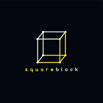 正方形のロゴタイプの概要