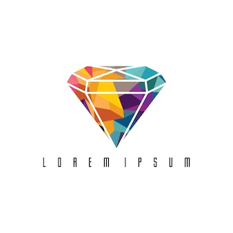 Абстрактные красочные треугольные геометрические алмазные украшения