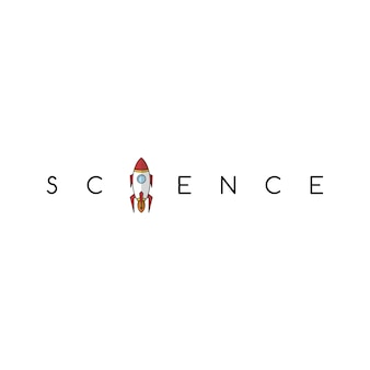 ロケット科学宇宙ボイジャーテーマベクトルアート