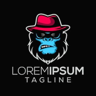 Логотип обезьян босса мафии