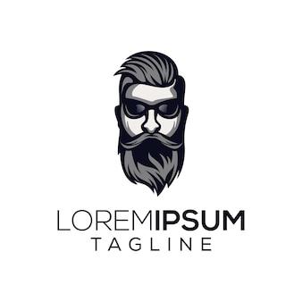 Крутой человек логотип